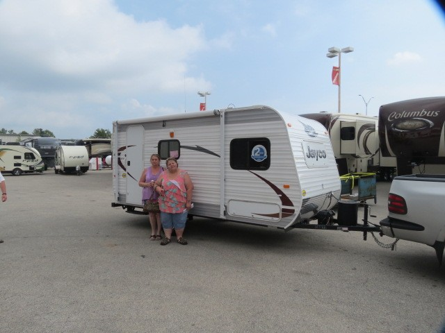 Cheri Anders of Merkel, TX with their Jay Feather Ultra Lite X17Z