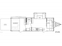 2012 Fun Finder XT-276 Floor Plan