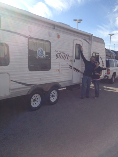 James Test2 Roe Math Corrected at All Seasons RV with their Jay Flight Swift 281BHS