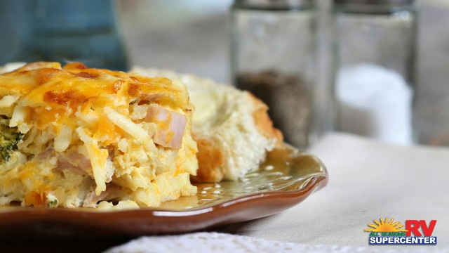 Egg Casserole Breakfast Dish