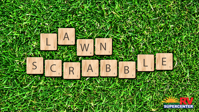 Lawn Scrabble Feature