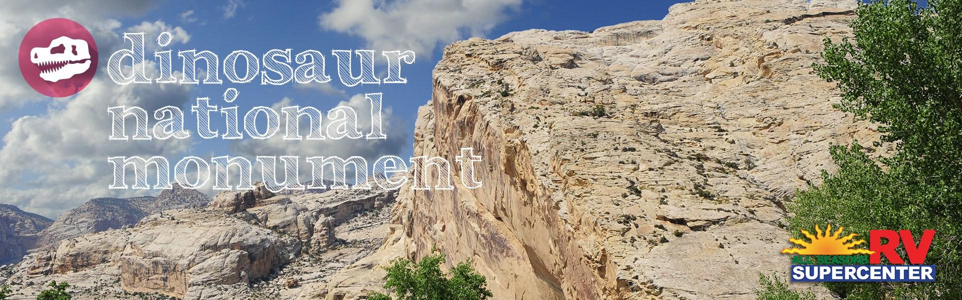 Dinosaur National Monument banner