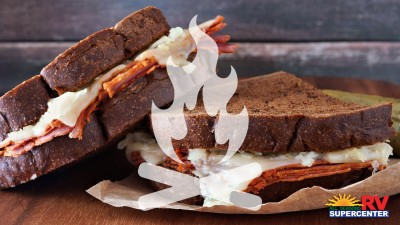 On The Fire Reuben Sandwich Feature