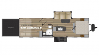 2019 Stryker 3010 Floor Plan