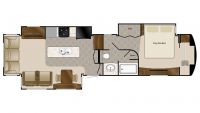 2019 Mobile Suites 38RSB3 Floor Plan