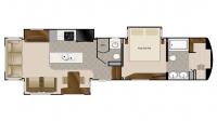 2019 Mobile Suites 39DBRS3 Floor Plan
