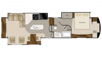 2019 Mobile Suites 39RESB3 Floor Plan