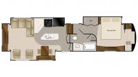 2019 Mobile Suites 39RESB3 Floor Plan