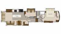 2019 Mobile Suites 44 CUMBERLAND Floor Plan