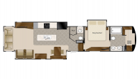 2019 Mobile Suites 44 HOUSTON Floor Plan