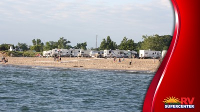 Beach Camping Preventing Sand Inside Your RV Fi
