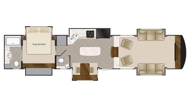 2019 Elite Suites 44 NASHVILLE Floor Plan
