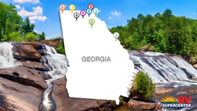 RV Roadtrip Waterfalls Of Georgia