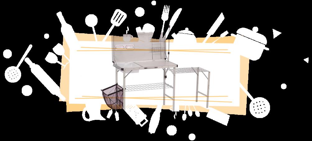 RV camp kitchen