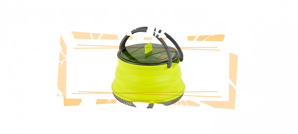 collapsible kettle for RV kitchen space saving