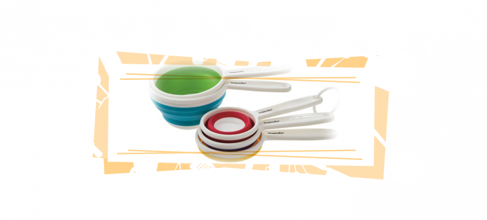 collapsible measuring cups for RV kitchen space saving