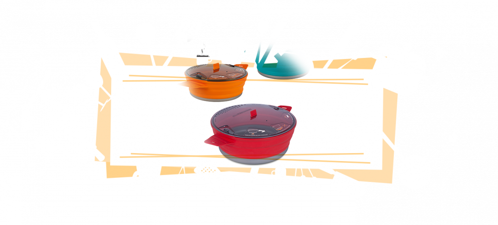 collapsible pots and pans for RV kitchen space saving