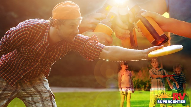 Adult Or Kid Friendly Frisbee Games