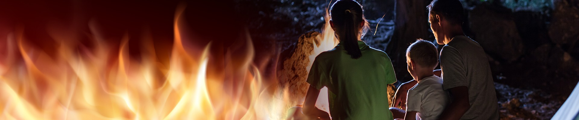 Keeping your kids safe around a campfire Tip #5: Use your own discretion