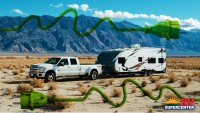 RV Boondocking In The Mountains And Needing Electrical Power