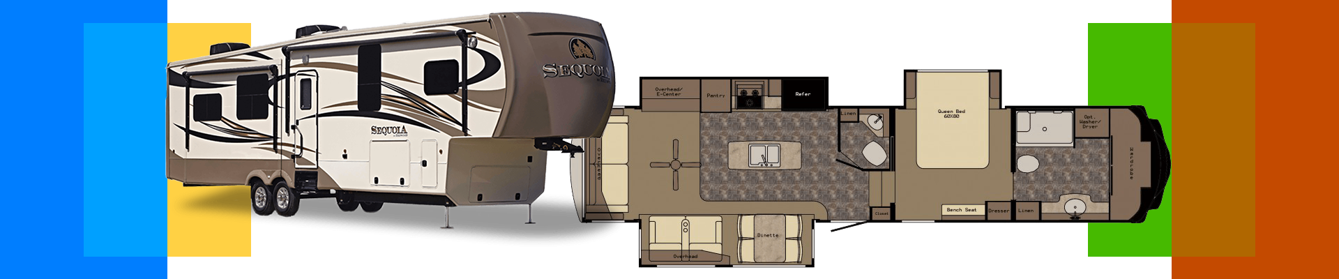 Camp all year round in the four-season Sequoia RV