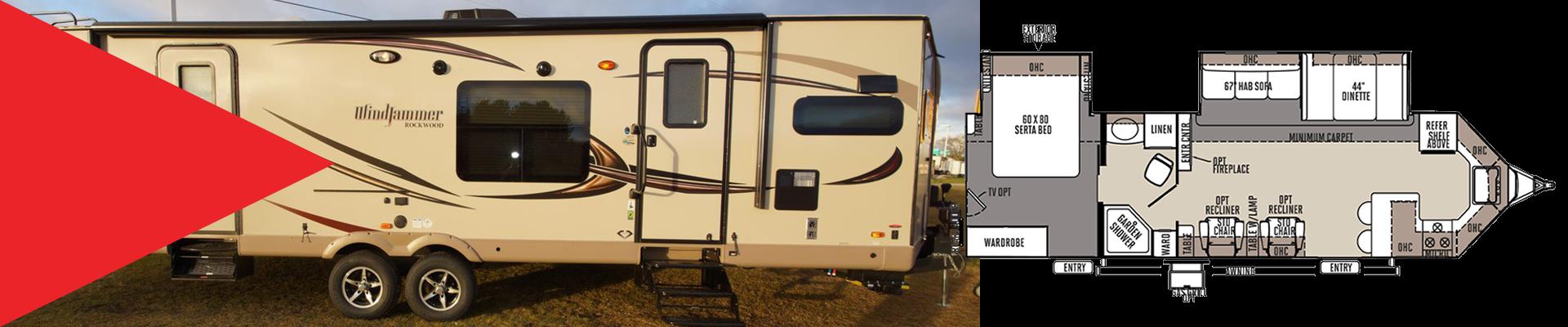 Forestriver Windjammer travel trailer