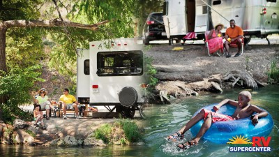 Families At Their Campsites