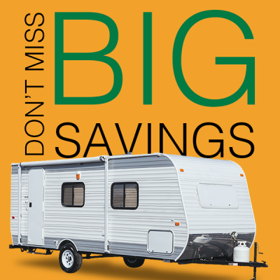 Don't miss out on these big savings on RVs!