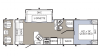 2018 Puma 253FBS Floor Plan