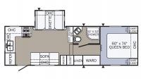 2018 Puma 255RKS Floor Plan