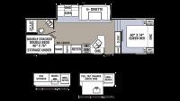 2018 Puma 286RBSS Floor Plan