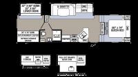 2018 Puma 295BHSS Floor Plan