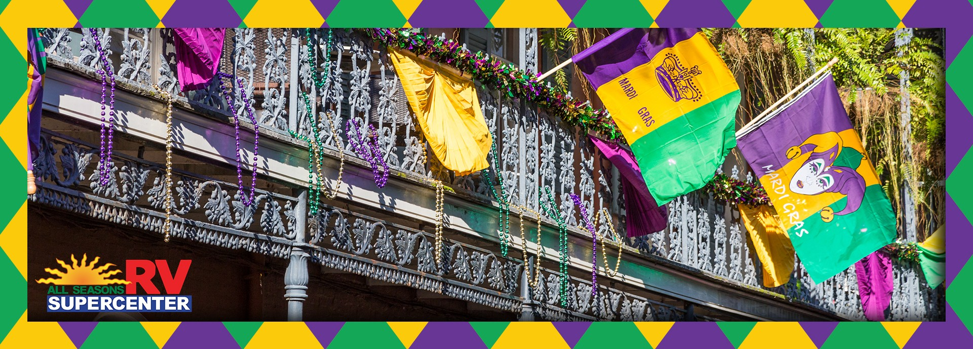 Mardi Gras: An RVers Guide To Exploring New Orleans. All Seasons RV
