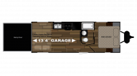 2018 Stryker 2313 Floor Plan