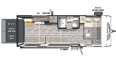 2021 Wildwood FSX 190RT - WI5826
