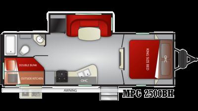 2021 Cruiser MPG 2500BH - 456759