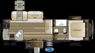 2021 Cougar Half Ton 29RKS - 506755