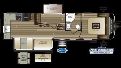2021 Cougar Half Ton 31MBS - CO5393