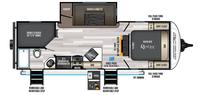 Alpha Wolf 23DBH-L Floor Plan - 2022