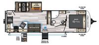 Alpha Wolf 26RK-L Floor Plan - 2022