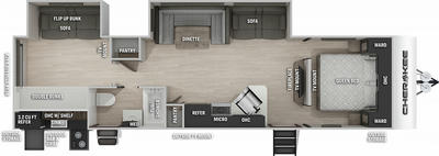 Cherokee 294BHBL Black Label Floor Plan - 2021