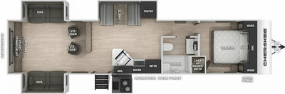 Cherokee 306MM Floor Plan - 2021