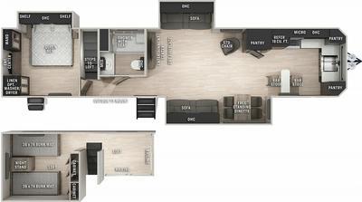 Cherokee 39LB Floor Plan - 2021