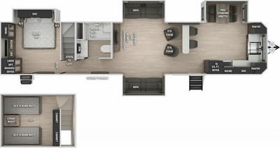 Cherokee 39SRBL Black Label Floor Plan - 2021