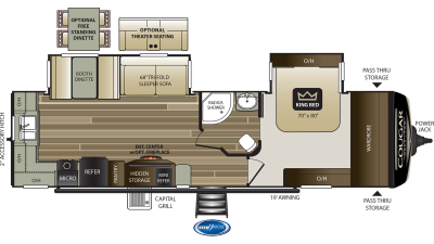 2020 Cougar Half Ton 30RKD - 502854