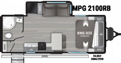 2021 Cruiser MPG 2100RB - 471694