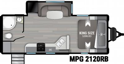 2021 Cruiser MPG 2120RB - CR2024