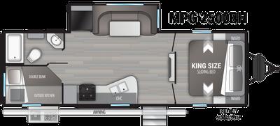 2021 Cruiser MPG 2500BH - 461461