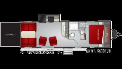 2020 Cruiser MPG 2700TH - 429231