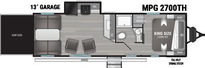 2021 Cruiser MPG 2700TH - 459549